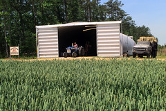SteelMaster Steel Building Hay Storage