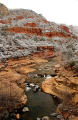 38 Oak Creek Canyon Snowfall IMG_5998 (jpoage) Tags: travel winter wallpaper vacation arizona color beautiful digital landscape photography photos snowstorm picture sedona billpoagephotography