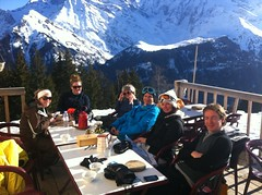 Team trip to Megeve