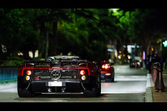 Pagani Zonda C12-S Roadster & Koenigsegg CCR Evo (Valkarth) Tags: 2 night canon eos noche shot mark top forum grace monaco ii l mk2 5d usm marques nuit 70200 f28 mk spotting evo ccr zonda koenigsegg 2012 mkii princesse roadster markii sighting 70200mm pagani tmm grimaldi mark2 spotter c12 c12s zondas sighter