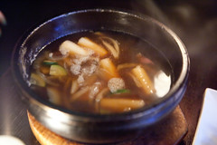 Bulgogi stew (sans the bulgogi for the moment) (thewanderingeater) Tags: nyc dinner manhattan tribeca kori koreancuisine korirestaurant