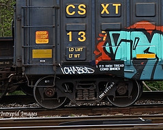 Ichabod (INTREPID IMAGES) Tags: street railroad streetart color art train bench circle t graffiti fan fry paint steel painted sony graf tracks rail railway trains tags images 63 yme railcar intrepid writer boxcar graff grab ich railfan freight rolling ichabod csx itd sfl gr8 paintedtrains fr8 csxt benching railroadgraffiti paintedsteel railer 137293 intrepidimages