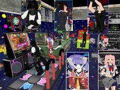 Game On~! (SerenitySemple) Tags: anime silly cute fun furry arcade sl kawaii animehead