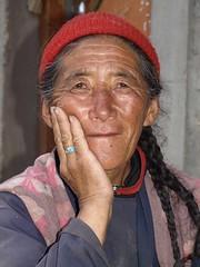 P8094185 (bl!kopener) Tags: portrait people woman india olympus zuiko 43 2010 evolt 3x4 e510 fourthirds f3556 rupshu 1442mmf3556 2884mm