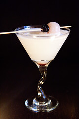 Lychee Martini (thewanderingeater) Tags: nyc dinner manhattan tribeca kori koreancuisine korirestaurant
