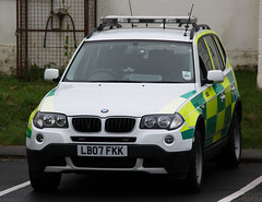 Isle of Wight Ambulance Service BMW X3 Rapid Response Vehicle - LB07 FKK (IOW 999 Pics) Tags: ambulance bmw vehicle service isle rapid wight response x3 lb07fkk