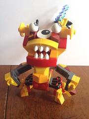 Vulk-Zaptor Mix (benjibot) Tags: lego mixels uploaded:by=flickrmobile flickriosapp:filter=nofilter