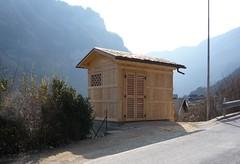 cabine elettriche a tipologia paesaggistica Primiero