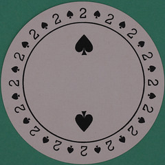 Discus Round Playing Card 2 of Spades (Leo Reynolds) Tags: playing canon eos iso100 deck card squaredcircle 60mm f80 playingcard carddeck 40d hpexif 0033sec 033ev xleol30x sqset101 xxvisiblexx