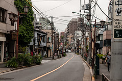 Yanaka (TheSpaceWalker) Tags: street urban japan photography japanese tokyo photo nikon pic wires 1750 tamron yanaka d300 yanakacemetery