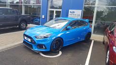 2016 Ford Focus RS (>Tiarnn 21<) Tags: uk blue 2 6 3 ford 1 focus 5 pat 4 7 8 9 ie rs kirk 57 2016