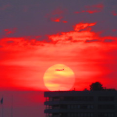 Sunset in Amsterdam (mcmcf99) Tags: day128366 366the2016edition 3662016 7may16