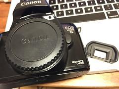 EOS eye cup (Jet Daisuke) Tags: camera slr canon eos  eos1000s