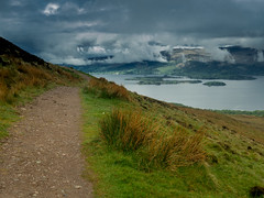 Scotland : West Highland Way Day 2 N5 (kimhike) Tags: ecosse scotland west highland way day hiking walking randonne paysage landscape scenery highlands mountains lowland travel camping trekking wild nature lover outdoor adventure forest loch lomond conic hill