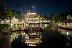Liberty Belle (patchrick84) Tags: nightphotography florida waltdisneyworld themepark magickingdom libertybelle riversofamerica