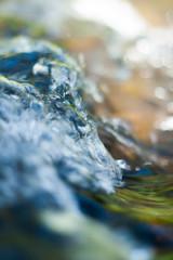 Liquid Glass (Elliot Tratt) Tags: summer sun sunlight water glass digital canon river eos soft cornwall sensitive depthoffield rivers waters capture delicate liquid solid 2016 400d
