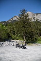 GS'en Unterwegs (Marco Facci) Tags: offroad berge wald kaserne tanne militr kiesgrube bmwr1200gsadventure luzisteig