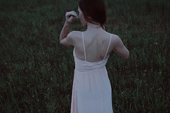 114 (Yulia-Kuznetsova) Tags: shadow girl beauty field grass natural skin outdoor magic piercing mysterious emotions gentle peaceofmind sensually