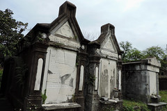 New Orleans - German Ancestors (Drriss & Marrionn) Tags: usa cemetery grave graveyard concrete outdoor neworleans headstone tomb graves funeral mausoleum granite sarcophagus burial marble tombs lafayettecemetery deceased gravefield vaults crypts neworleansla