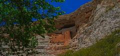 Montezuma Castle (MPnormaleye) Tags: arizona cliff southwest castle monument nature stone ancient desert valley utata montezuma cave 24mm primitive dwelling cliffside photomatix