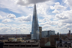 The Shard - London (Tomas Anton Escobar) Tags: morning sky london glass architecture clouds buildings bluesky southwark skyscrapper skyporn