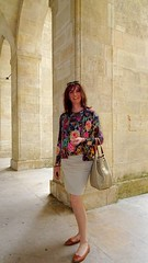 @ Bordeaux (french_lolita) Tags: gold top skirt jacket multicolored