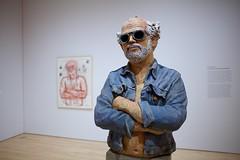 Robert Arneson, California Artist, 1982 (mayaibuki.me) Tags: california robert artist sfmoma hippie scupture arneson degenerate
