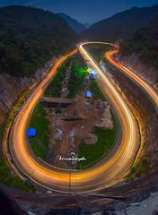 The Crazy Midnight Colors (Irwansyah St) Tags: bridge west indonesia sony padang sembilan sumatera kelok irwansyahst