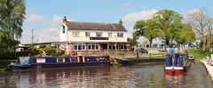 Narrowboats on a Sunny Day  (Explored) (Bogger3.) Tags: canal relaxing peaceful sunnyday narrowboats coth canon600d canon18x135lens