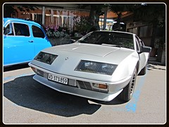 Alpine Renault A 310 (v8dub) Tags: auto old classic car french schweiz switzerland automobile suisse automotive voiture renault alpine oldtimer oldcar 310 collector youngtimer wagen pkw klassik chavornay a worldcars