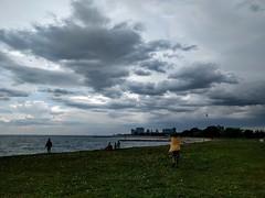 IMG_20160525_171540 (MichaelSCarroll) Tags: clouds swimming lakemichigan lakeshore