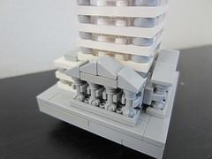 New building (Luap31) Tags: metropolis lego legoarchitecture legomicroscale legocity