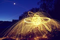 20150809 appearance () (Light painting, Lightgraffitti, Long exposure, lig) Tags: longexposure lightpainting slowshutter lighttrail steelwool lightpaint firepainting lightgraffitti lightpaintingphotography