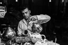 Tea (Saman A. Ali) Tags: street light people blackandwhite man monochrome night 35mm dark blackwhite nikon tea streetphotography photojournalism documentary kurdistan slemani sulaymaniyah stphotografia