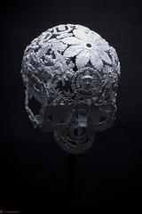 IMG_4958 (m.acqualeni) Tags: sculpture metal dark de dead death skull noir mort gothic goth manuel morbid alain gothique mtal fond tete tte morbide belino acqualeni