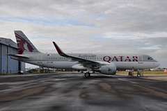 A7-LAB  A320-214(SL)  Qatar Airways (n707pm) Tags: ireland painting airplane airport aircraft airline airbus qatar a320 320 coclare snn qatarairways qtr shannonairport almaha einn 320sl eirtech eirtechaviation a7lab 22062016 cn6467