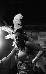The Artist (Jordi Aragon) Tags: blackandwhite bw film analog darkroom 35mm 11 400tx d76 400 kodaktrix schwarzweiss blancinegre canoneos300 selfdeveloped ef50mmf18 4001600 filmrocks epsonv700 21c carnavaldesitges sitgescarnival revelatanalgic 1325minutes ruadelextermini2012
