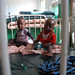 Two brothers in a ward for malnourished children in Benadir hospital