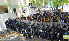 MVP_9074 (mvcoup) Tags: news yellow events president protest cnn bbc maldives unrest reuters anni mdp mohamednasheed drwaheed mvcoup mvprotest