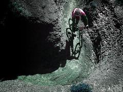 Lunar cycling (Markus' Sperling) Tags: mountain bike sport rural open camino path bicicleta luna ciclismo ciclista bici deporte catalunya cami lunar taradell esport ciclist ciclisme ciclism