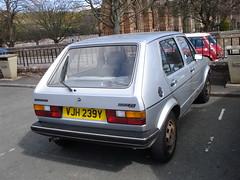 1983 Volkswagen Golf 1.3 CL (GoldScotland71) Tags: golf volkswagen 1983 13 1980s cl mk1 vjh239y