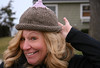 Kathy's Boobie (sur)Prize! (TW Collins) Tags: fashion by friendship handknit vogue cap kathy awareness deb breastcancer boobie borrowed strikeapose coasttocoast yeyi supportnetwork justdeb theateamrallyingforaurelia andthemultitalented
