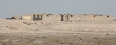Abandoned Army Fort, Eastern Bank of the Khor Al-Zubair, Iraq