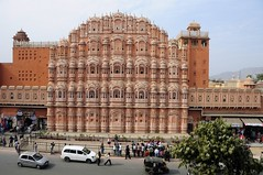 Hawa Mahal (Saumil U. Shah) Tags: travel pink summer india history tourism beautiful architecture sandstone mahal landmark palace tourist historic summerpalace breeze iconic jaipur rajasthan hawamahal shah hawa pinkcity palaceofthewinds  saumil  incredibleindia     saumilshah