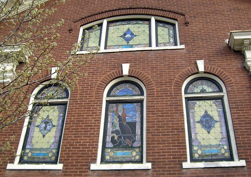 Stained Glass Windows, James Lees Memorial Church