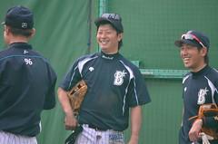 DSC_0026 (mechiko) Tags: 120205 横浜ベイスターズ 渡辺直人 藤田一也 横浜denaベイスターズ 2012春季キャンプ
