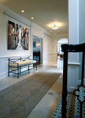 "Front Entry hallway with stair railing detail • <a style=""font-size:0.8em;"" href=""http://www.flickr.com/photos/75603962@N08/6853269087/"" target=""_blank"">View on Flickr</a>"