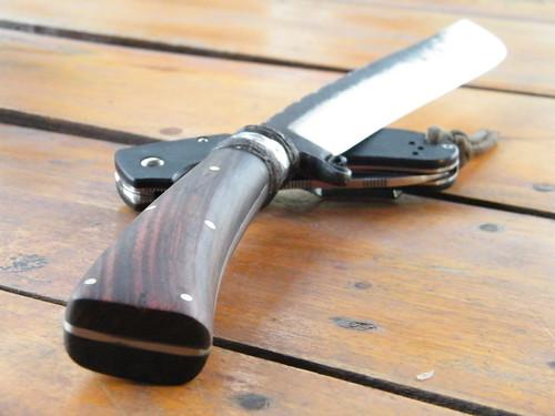 กระบวนการตีมีด ตะไบ และ ตลับลูกปืน