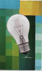 (Gaby Petrone) Tags: blue light verde green art luz moleskine lamp azul arte pop popart popular lampada lmpada quadrados molesquine