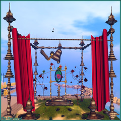 Réveil en couleurs ... (Tim Deschanel) Tags: life art romy tim magic sl dreams frogs second anita witt grenouille artspace deschanel crapaud nayar aniwitt andriannas